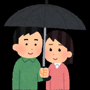 雨中に舞い降りた天使さやか(2):相合傘