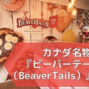 【カナダ名物】ビーバーテールズって?カナダに来たら食べておきたい激甘スイーツ!