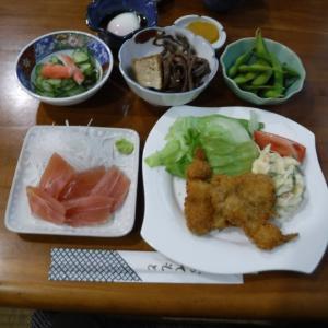 大好きな秘湯祖母谷温泉の夕食編