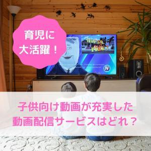 子供向け動画(0歳〜2歳)が充実した動画配信サービス(VOD)はどれ?【育児に大活躍!】