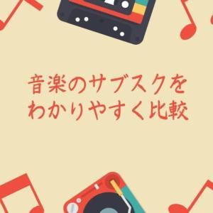 【2020年最新】音楽のサブスクをわかりやすく比較