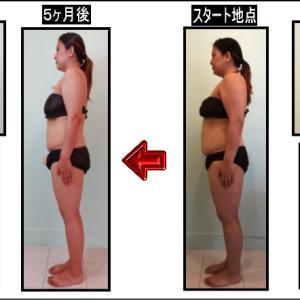 ダイエット5ヶ月の途中経過!赤裸々写真公開!