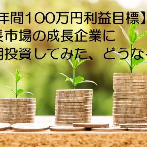 世界の成長市場の成長企業投資、長期保有できたら株価数倍かも(笑)