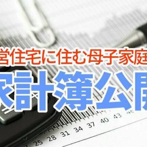 母子家庭の家計簿公開