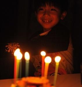 7歳の誕生日。