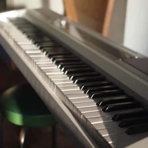 ピアノを練習する日々