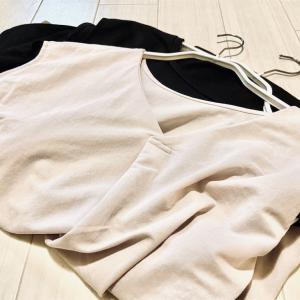 【2020年秋冬のワードローブ】長袖のトップスを手放して、GUの化繊の半袖Tシャツに集約しました