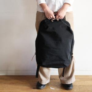 無類のリュック好きの妻が認めたリュックサック ブラックのLサイズが再入荷