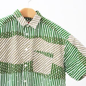 夏になるとプリントシャツが欲しくなる。kakapoのシャツワンピ
