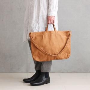 カバンマニアの妻が認めた「やさしい革」のレザーバッグの横型が使える