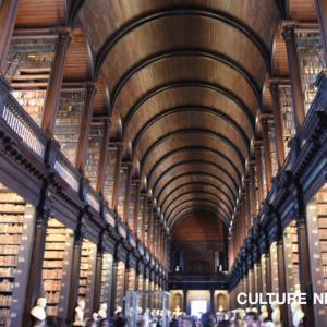 貴重な蔵書とハープと胸像?謎の取り合わせ『トリニティカレッジ図書館』