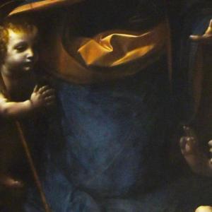 『ナショナル・ギャラリー』の顔にご挨拶 ダ・ヴィンチ作<岩窟の聖母>