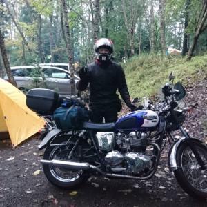 道志にてキャンプ