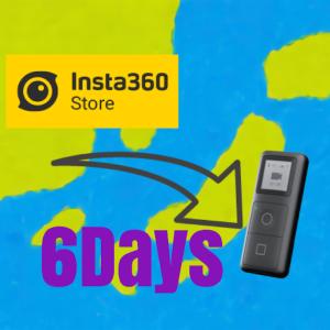 insta360 Store 注文から到着までの日数