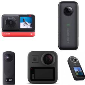 VR360度カメラ比較 Insta360 ONE X2 vs Insta360 ONE R vs Insta360 ONE X vs THETA Z1 vs GoPro MAX vs KanDao QOOCAM 8K