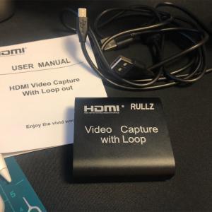 わずか1800円で買える中華HDMIキャプチャユニットRULLZ Video Capture with Loop レビュー