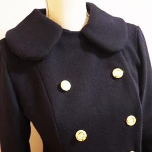 乙女のソーイングBOOK8より、Aラインコートを作りました