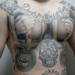 【刺青】ソフトクリームのタトゥー入れてみた