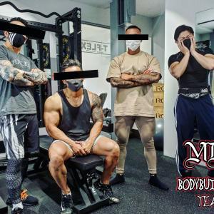 【刺青×筋肉】第4回 MDC合同トレーニングリポート