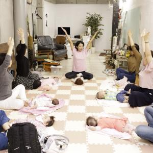 【明日開催】土曜日、赤ちゃんとふたりで楽しめるベビーマッサージ