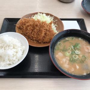 【食レポ】かつや 京王八王子店 とんかつ 朝ロースカツ定食450円