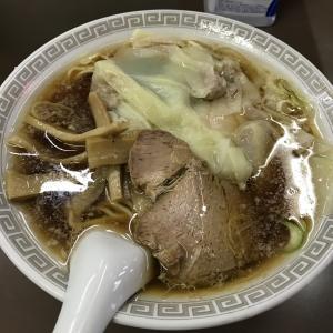 【食レポ】東武練馬 飛鳥 ワンタン麺500円