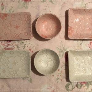 ☆セリア☆今年の桜皿