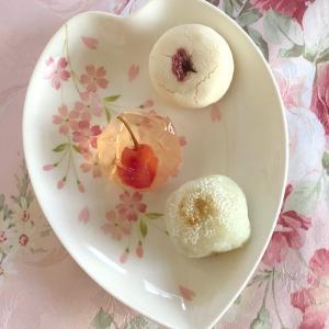 ☆スタバ☆のコーヒーと和菓子いろいろでリラックスタイム