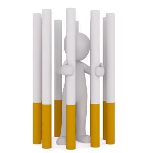 今月から禁煙しています。