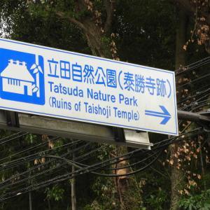 立田自然公園の紅葉