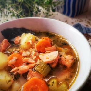 フィスクスッペ☆ノルウェー風魚のスープ