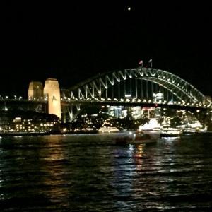 シドニーの夜景は最高!