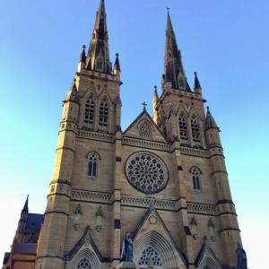 セント・メアリー大聖堂は南半球最大のゴシック建築@シドニー