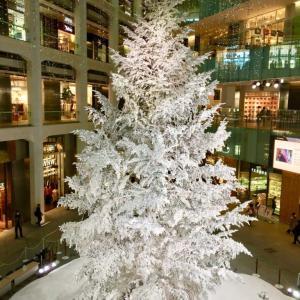 KITTE のクリスマスツリーは見に行く価値あり!@東京