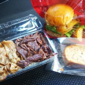 弘前エール飯でハンバーガーテイクアウト