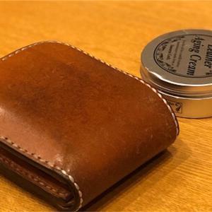 愛用している革財布の手入れ