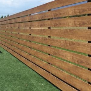 お庭のDIY 目隠しフェンスを設置①
