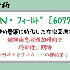 【 銘柄分析 】 10万円以下でクオカードの優待あり | N・フィールド (6077)