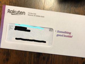 【アメリカ】Rakutenでキャッシュバック