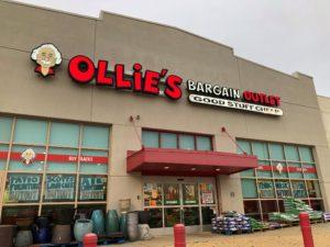 【アメリカ】経済始動第一弾 Ollie's Bargain Outlet に行ってきた