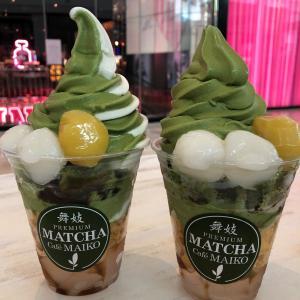 Matcha Cafe Maiko でアメリカ抹茶体験♪とユニクロショッピング!
