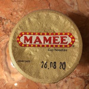 ミャンマーでカップ麺「MAMEE」を食す!