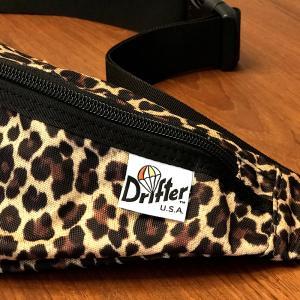 レビュー|Drifter(ドリフター)豹柄ボディバッグ|探してた物をついに見つけた感あり!