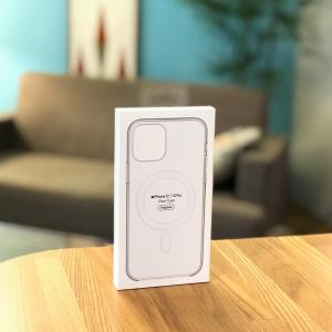 【レビュー】iPhone12/12Pro用純正MagSafeクリアケースが本体より先に届きました