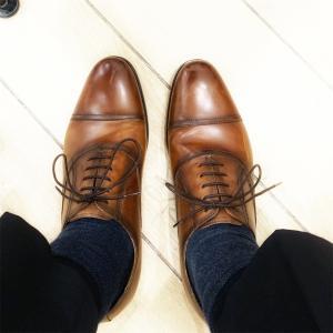 【本革】フォクスセンスというブランドの革靴を購入した。【レビュー】