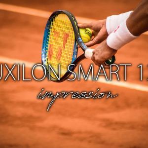 【テニス】ルキシロンの賢いストリングSMART(スマート)125を貼ってみたレビュー【感想】
