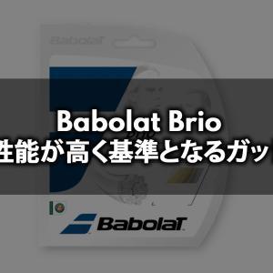 Babolat Brio(ブリオ)は性能が高く基準となるガット【ナイロンマルチストリング評価・感想・レビュー】