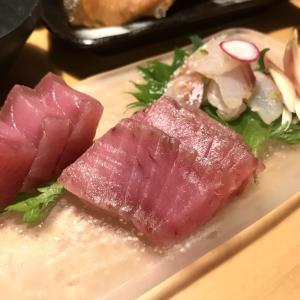 スーパーで買った魚にひと手間かけたマグロのお刺身と鯛の昆布締め