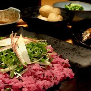 華やかなピンクのちらし寿司 野菜で作るシンプルな薬味ちらし