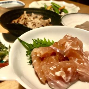鮭やサーモンのお刺身で手作り塩辛